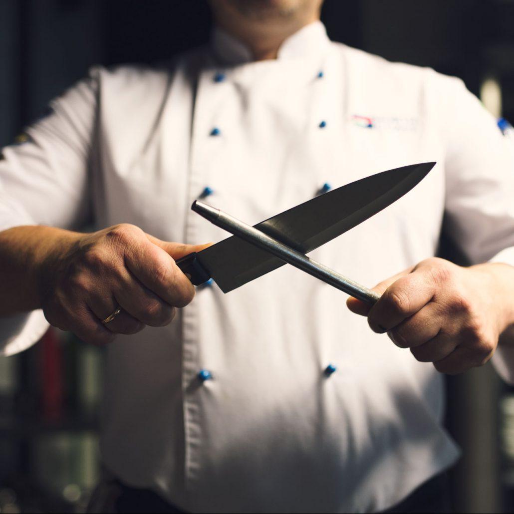 Chilita - szef kuchni - noże kuchenne