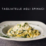 Tagliatelle agli spinaci, Chilita