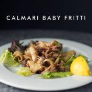 Smażone kalmary, calmari baby fritti, Chilita Rzeszów