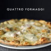 Pizza z czterema rodzajami sera - Chilita Rzeszów