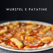 Pizza z frytkami i parówkami, Chilita, Rzeszów