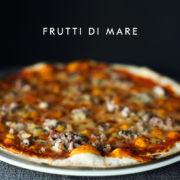 Pizza frutti di mare z owocami morza, Chilita Rzeszów