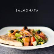 Salmonata, sałatka z łososiem, Chilita