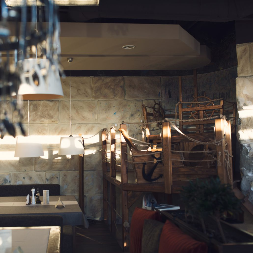 Ciekawe pomysły na wnętrza restauracji